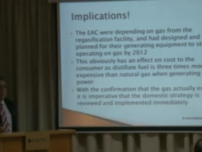 Cyprus Gas: A View on the Short and Long-Term Alternatives and Options - Peter Wallace January 11, 2012