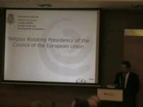 The Priorities of the Belgian Presidency - Ambassador Guy Sevrin July 13, 2010